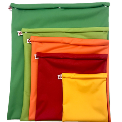 Reusable Freezer Bags - Flax & Stitch