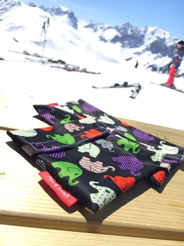 Pochette à Lunch Réutilisable - Flax & Stitch - Ski