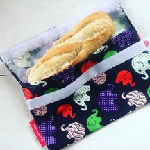 Pochette à Lunch - Baguette - Flax & Stitch