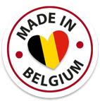 Flax & Stitch products are 'Made in Belgium'